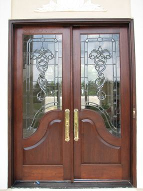 Custom Made Mahogany Entry Door