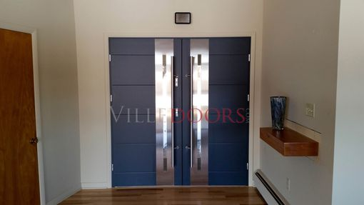 Custom Made Modern Exterior Doors