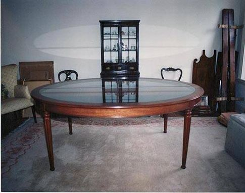 Custom Made Honduras Mahogany Dining Room Table
