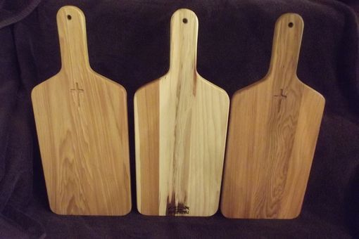 Custom Made Solid Hickory Bread Board