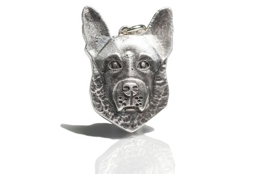 Custom Made Custom Dog Pet Head German Shepherd Jewelry