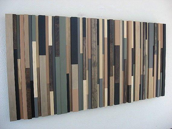 Custom Made Reclaimed Wood Wall Art - Hand Made Reclaimed Wood Wall Art By Modern Rustic Art, LLC