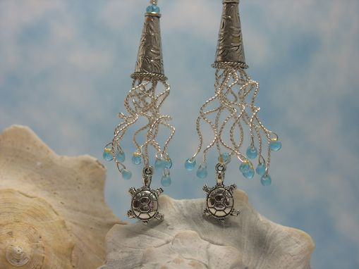 Custom Made Sea Anenome Earrings