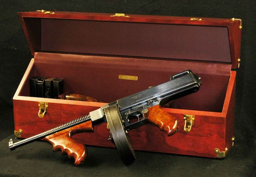 Custom Made Thompson Machine Gun Case