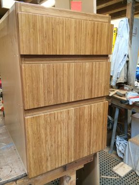 Custom Made Bamboo Kitchen Cabinetry