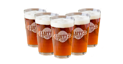 Custom Made Personalized Beer Glasses, Engraved Pint Glasses, Gifts --Gls-Pint-Mario