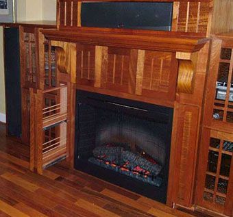 Custom Made Surround Sound System Cabinets
