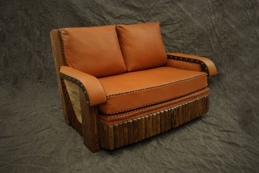 Custom Made High Style Love Seat