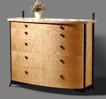 Custom Made French Curved Dresser