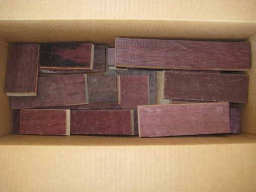 Custom Made Wine Soaked Bbq Blocks--10 Lbs.