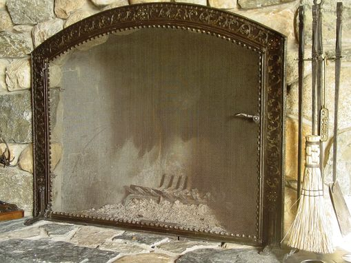 Custom Made Dining Fire Screen