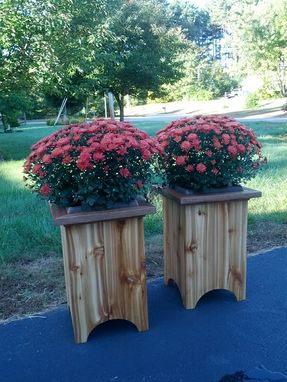 Custom Made Red Cedar Planter