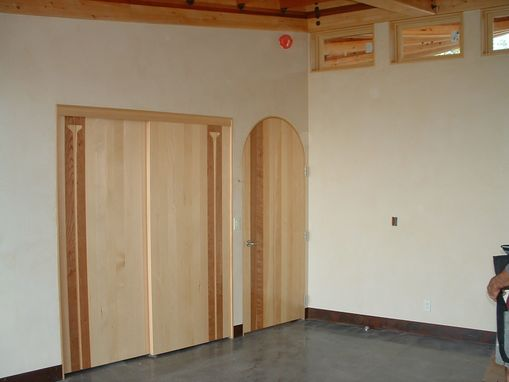 Hand crafted cherry and cedar interior doors by pacific millworks cherry and cedar interior doors planetlyrics Choice Image