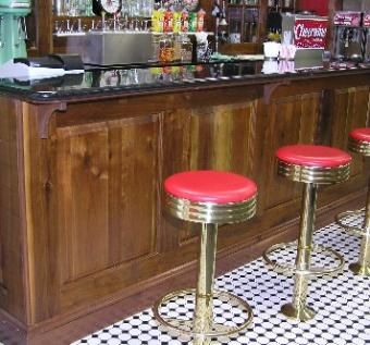 Custom Made Innes Street Drug Store Soda Fountain