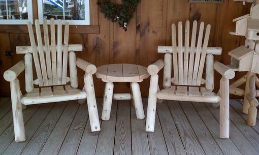 Hand Made Outdoor Cedar Log Furniture By Briar Hill Rustic