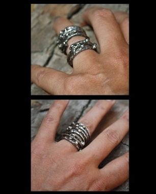 Custom Made Two In One Twigs & Berries Ring - $100