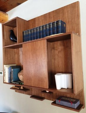 Custom Made Minimalist Shelf Unit