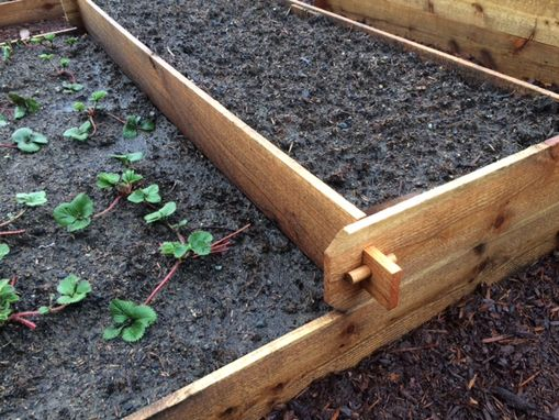 Custom Made Raised Bed Garden Boxes