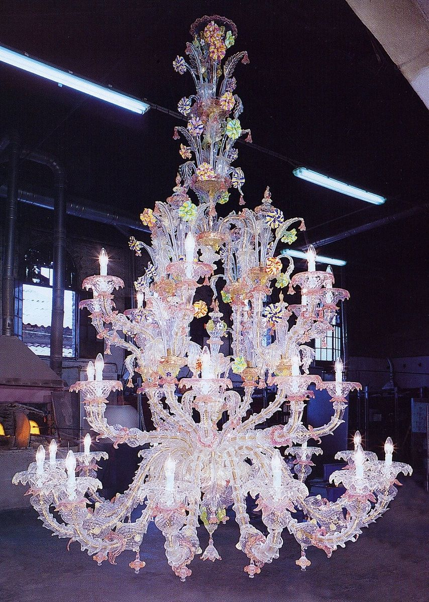Custom murano made venetian chandeliers by joseph wright custom made murano made venetian chandeliers aloadofball Gallery