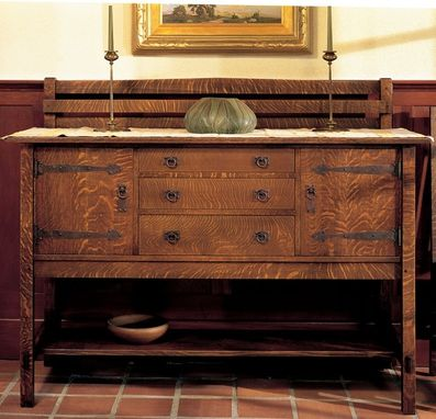 Custom Made Four-Leg Sideboard