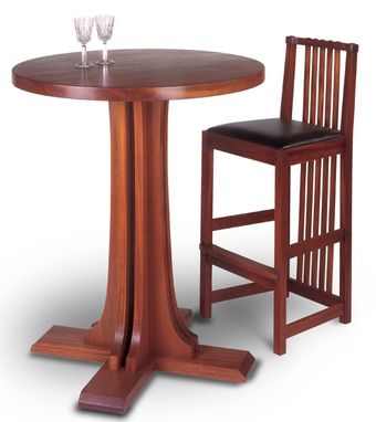 Custom Made Limbert Bistro Table