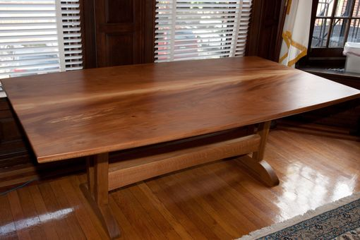 Custom Made Sycamore Dining Table