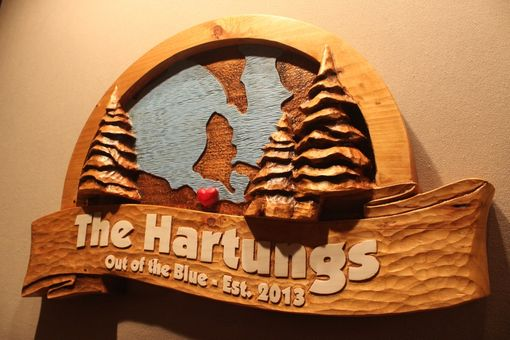 Custom Made Custom Carved Wooden Signs | Home Signs | Cabin Signs | Cottage Signs