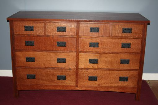 Custom Made Craftsman Chest Of Drawers