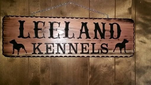 Custom Made Family Name Custom Carved Wood Signs Redwood Rustic Look
