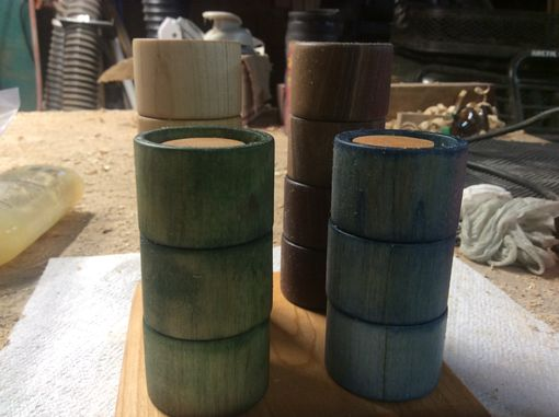 Custom Made Napkin Holder Rings And Stand