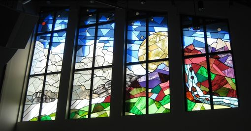 Custom Made Air Force Chapel Stained Glass