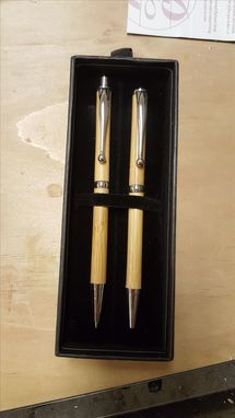 Custom Made Pen And Pencil Set