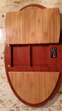 Custom Made Oval Cribbage Boards With Inlays