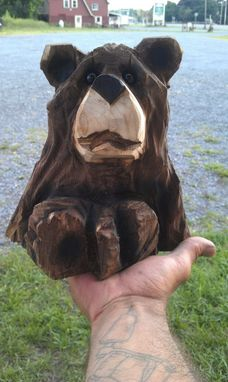 Custom Made Chainsaw Bears