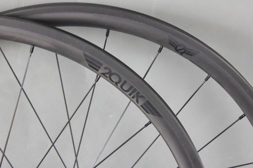 Custom Made 30mm Carbon Road Wheelset