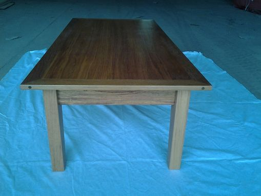 Custom Made Brazillian Cherry Coffee Table