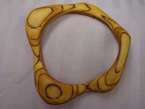 Custom Made Yellow Bracelet