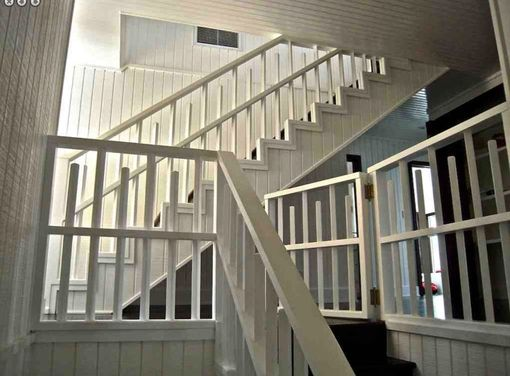 Custom Made Custom Stairway For A Home In Malibu