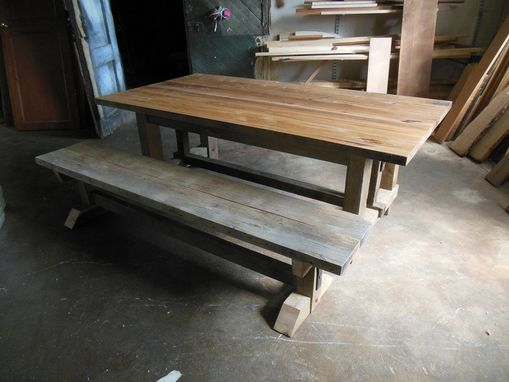 Custom Made Reclaimed Lumber Project From St. Vincent Monestary