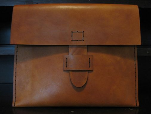 Custom Made Heavy Leather Ipad/Tablet Slip Case