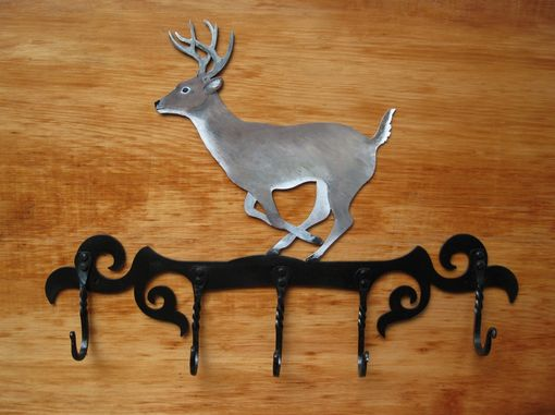 Custom Made Handcrafted Deer Coat Rack