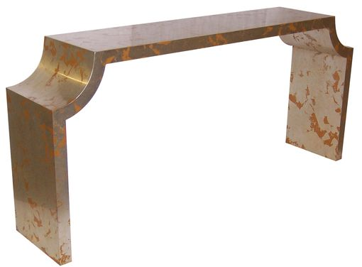 Custom Made Custom Arc Console Table