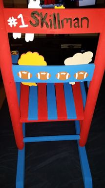 Custom Made Custom Child's Rocking Chair