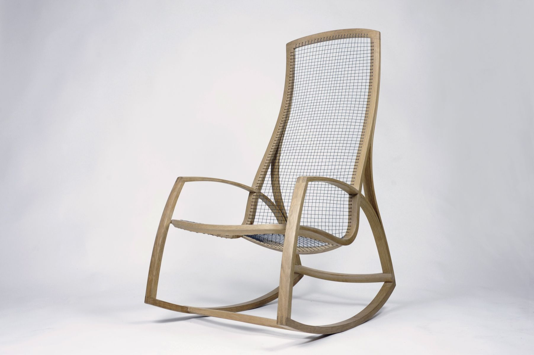 Handmade Rocking Chair No 2 by Reed Hansuld Fine Furniture