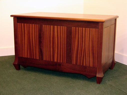Custom Made Sapele Blanket Chest