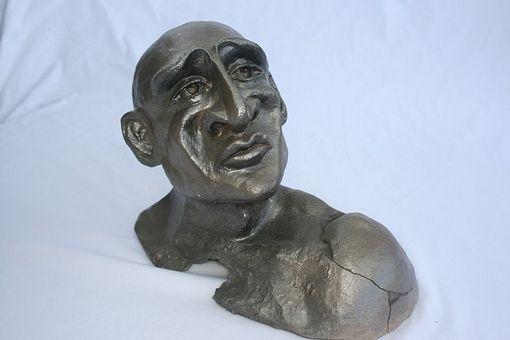 Custom Made Clay Bust