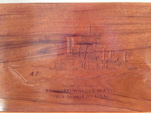 Custom Made Richard Walter Mayo Sea Chest