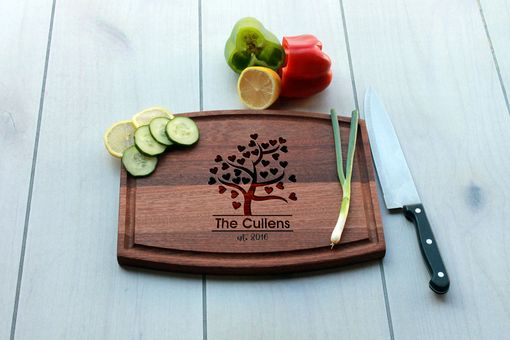 Custom Made Personalized Cutting Board, Engraved Cutting Board, Custom Wedding Gift – Cba-Mah-Cullen