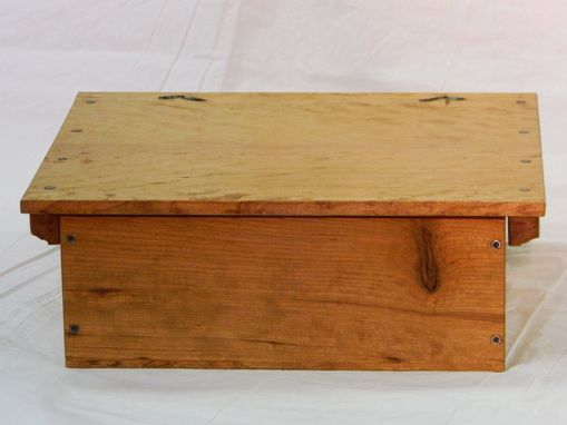 Custom Made Keepsake Box Old World Style In Cherry