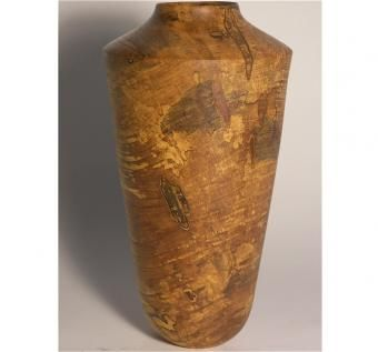 Custom Made Spalted Sugar Maple Amphora